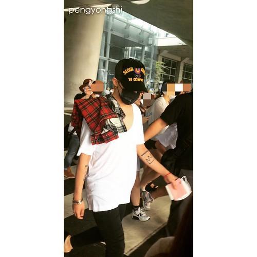 BIGBANG departure to Shenzhen 2015-08-07 (6)