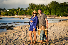 The family in Mauritius