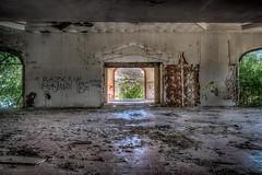 Abandoned Hotel Kaviria, Limnos