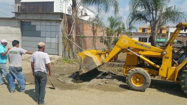 En Los Jardines del Inca Aguas del Chuno trabaja en la estación de bombeo
