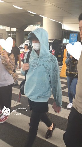 Big Bang - Incheon Airport - 28sep2015 - GD Fan - 01