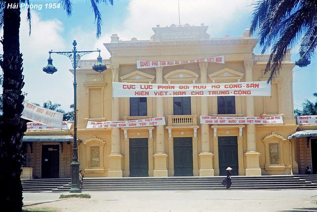 Hải Phòng 1954 - THEATRE MUNICIPAL - NHÀ HÁT THÀNH PHỐ
