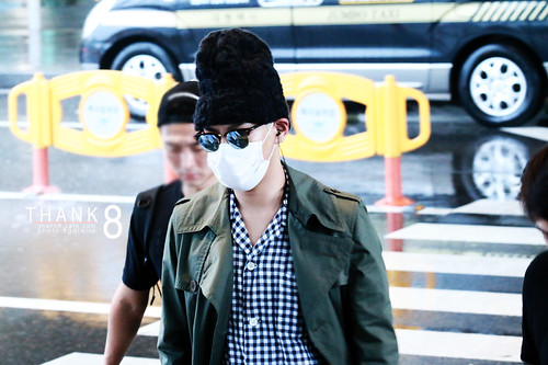 BIGBANG Arrival ICN from Malaysia 2015-07-26 HQs by GDREIRA 011