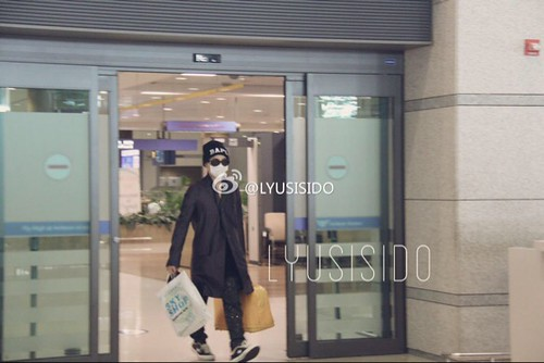 G-Dragon Arrival Seoul from Paris 2015-07-09 002