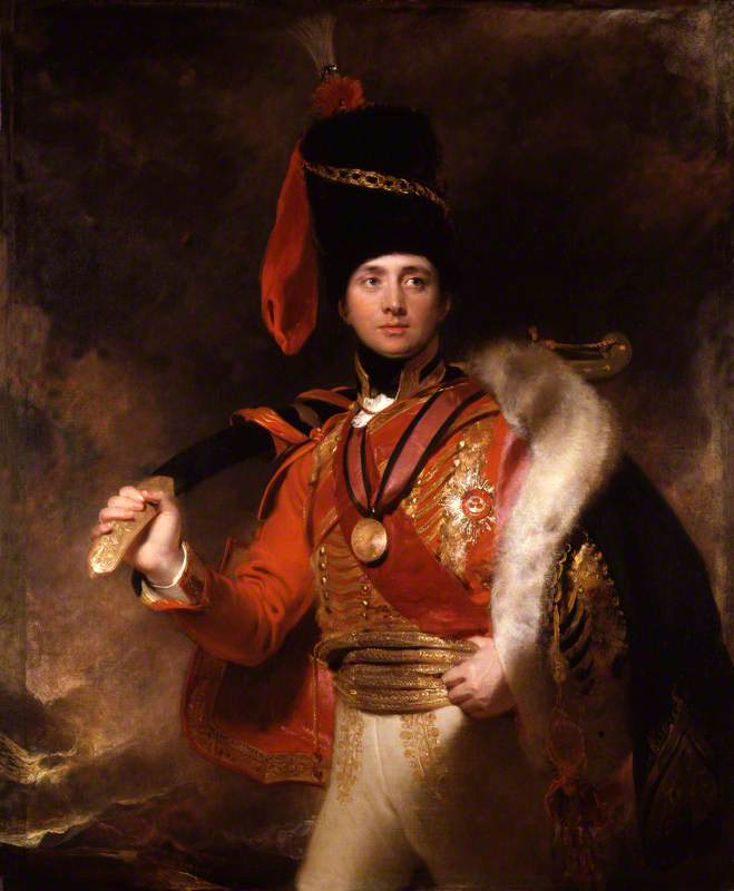 Charles William Vane-Stewart, 3rd Marquess of Londonderry by Sir Thomas Lawrence - 1812