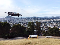 Drone Moments in Bernalwood at Bernal Heights Park