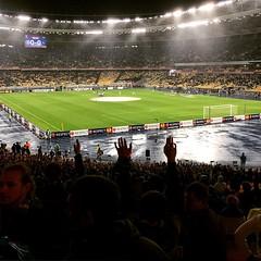 З нетерпінням чекаємо на початок матчу Дніпро - Наполі! #ШляхДоВаршави #Дніпро #Наполі #FCDD #Dnipro #UEL #matchday #Київ #Kyiv #olimpiyskiy #stadium #football