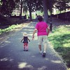 Perfect summer like day to be strutting in Central Park! Hope you're having a fabulous day! #harlembaby
