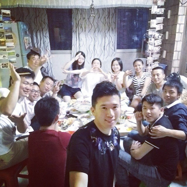 青旅聚会������ #shenzhen #sunday #深圳 #luohu #罗湖 #happy #party #boy #girl
