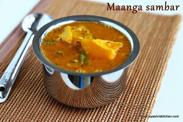 mango-sambar