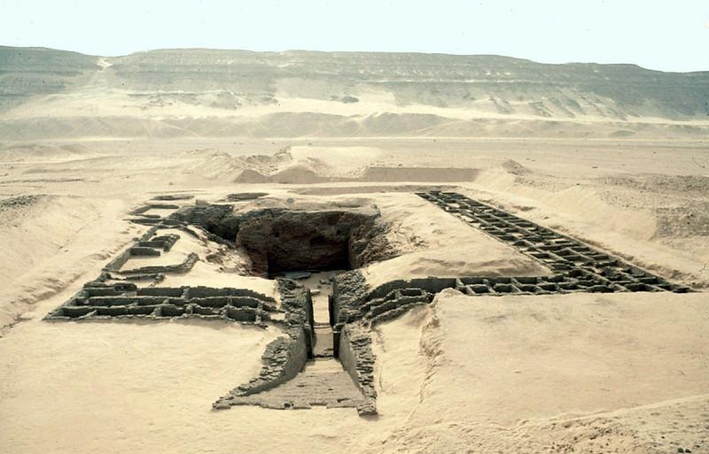 The tomb of Den at Umm el-Qa'ab