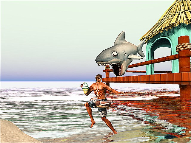 The Juicy Pineapple Fest - Shark!!