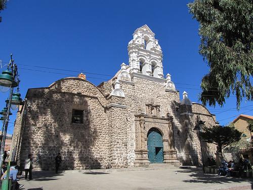 Potosi: la Iglesia San Bernardo