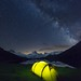 Camping under the stars - Bachalpsee by Sinar84 - www.captures.ch