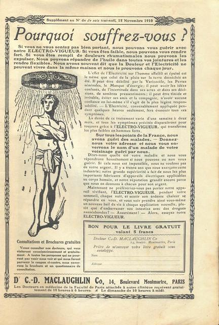 Je Sais Tout, No. 70, 15 Novembro 1910 - 145