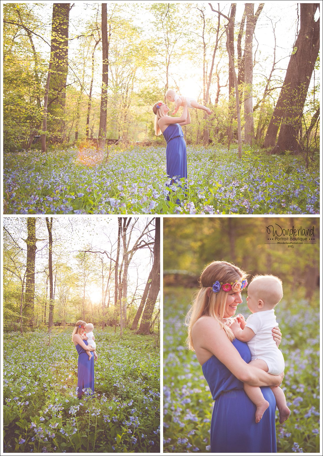 Mommy Me Breastfeeding Portraits Wonderland Portrait