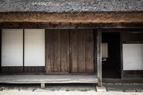 The old Japanese house The old Japanese house in Ashigawa