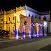 Fuentes Palacio Alvarado Luces por Moyses Gamboa P