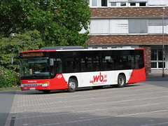 Setra bus at Münster (Germany)