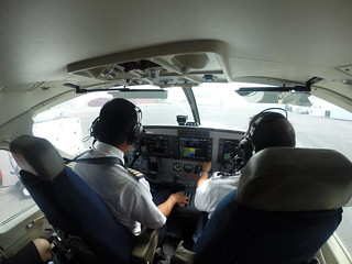 Front row seats on the flight to Puerto Obaldia