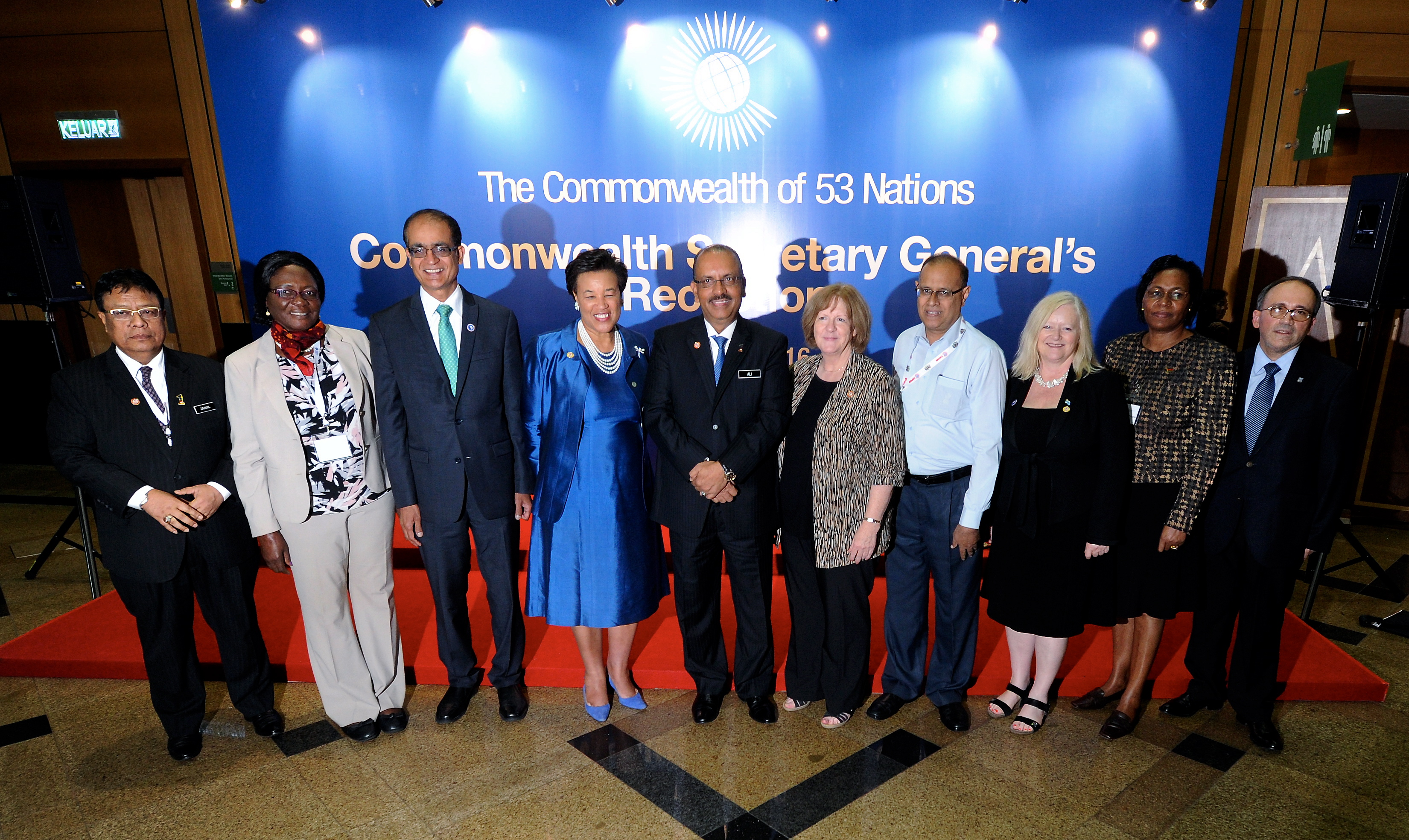 Secretary-General Scotland in Malaysia - 2016