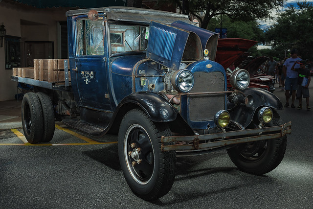 1930 Ford Model AA Truck (2016 Hot Nights Cool Rides, Forest City, North Carolina)
