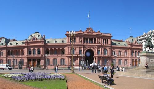 Buenos Aires: el Palacio del Gobierno