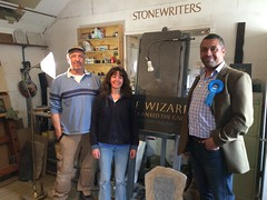 Stonewriters, wonderful family business in White Ash Green.