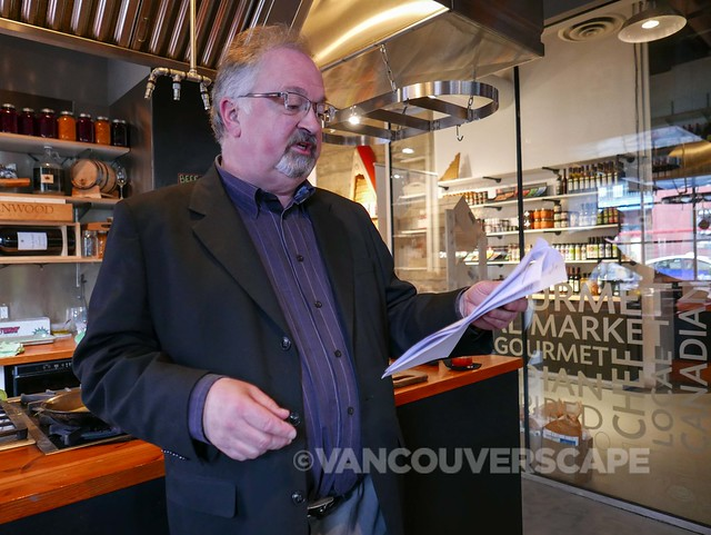 John Gilchrist, CBC Radio host and food critic