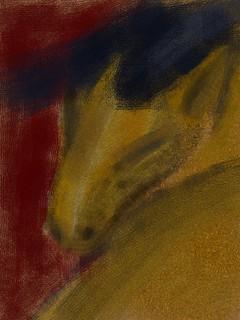 2015.03.08 Franz Marc's Horse