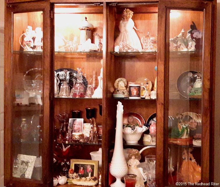 knicknack cabinet glass Heal A Broken Heart