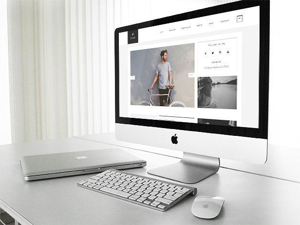 Thor - Creative portfolio HTML5 Website Template - 4