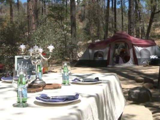 'Glamping' brings 5-star luxury to the outdoors