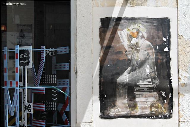 Street art at LX Factory.