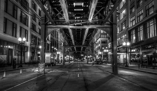 Under the El Train by Geoff Livingston