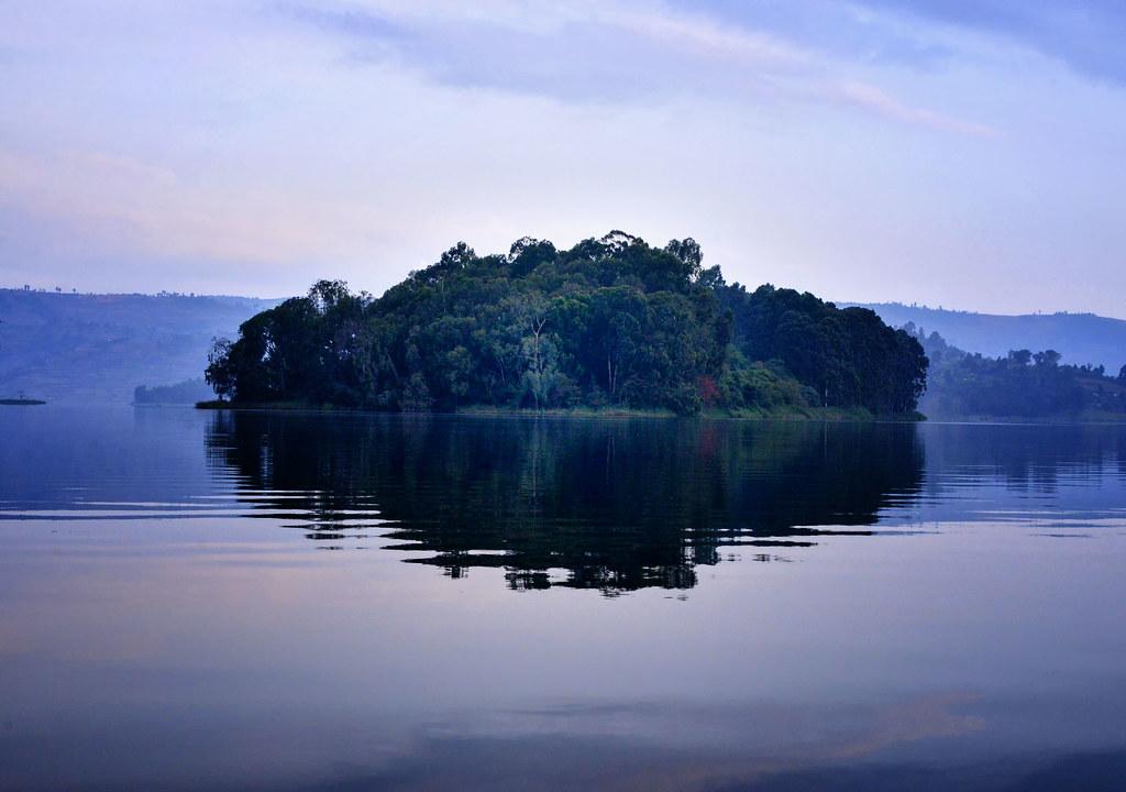 Island, Lake Bunyonyi, Oeganda