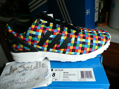 """adidas ZX FLUX """"multicolor weave"""" SIZE 8, 9, 9.5 Limited Edition (S82749) Europe"""