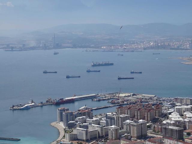 La baie de Gibraltar