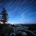 Dolly Sods - Bear Rocks by moonlight and star trails... by Schmoopy2007