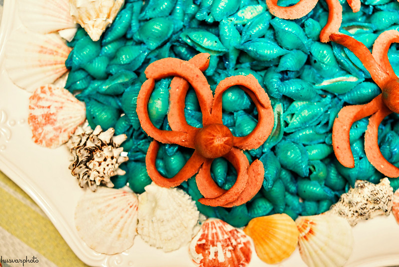 octopus seashell pasta kids food #KeepPlaying