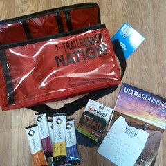 Right when I feel totally ready to ditch ultrarunning altogether, the crew at TrailRunnerNation goes and does something completely kind and unexpected... A super nice ultra specific drop bag full of love.... Just to say thanks for the friendship over the