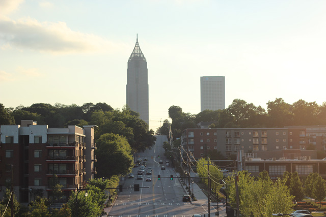 City View from the Atlanta BeltLine