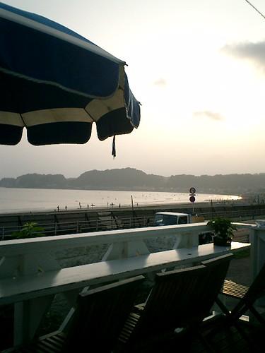 07.07.07夕日を見ながら、お好み焼きを食った。http://mitch1.blog.so-net.ne.jp/2007-07-07-6
