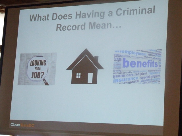 Powerpoint about criminal records and housing