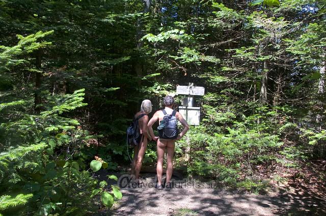 naturist 0017 Appalachian trail, Vermont, USA