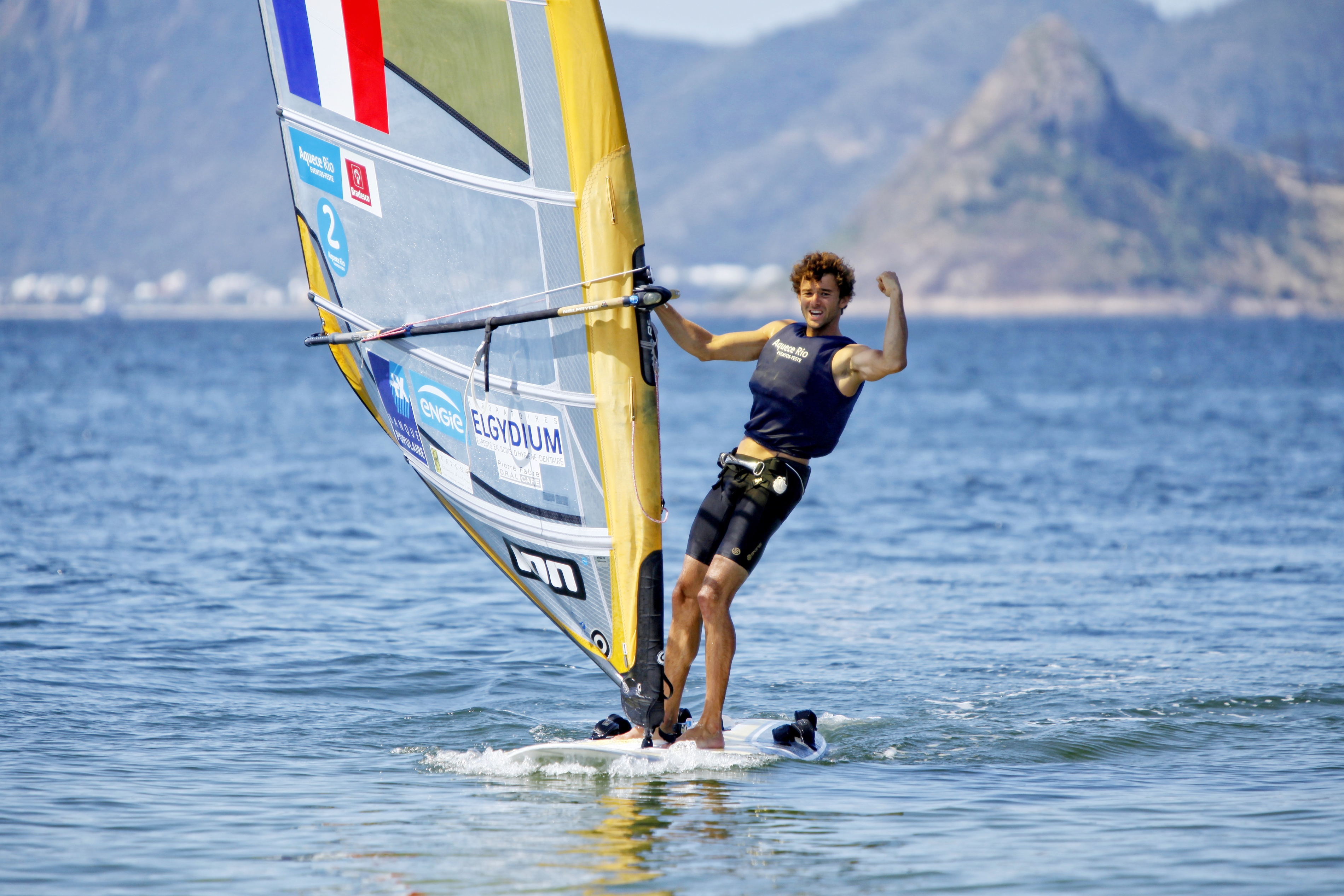 Test-Event Rio 2015 - Pierre Le Coq_Copyright C. Launay-FFVoile