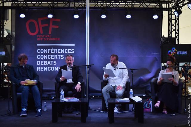 Lecture des Universités Populaires du Théâtre #OFF16