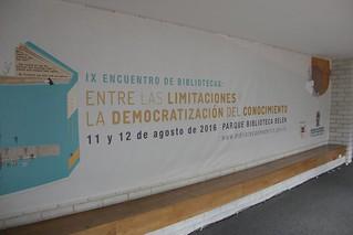 IX Encuentro de Bibliotecas 2016