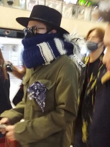 Big Bang - Gimpo Airport - 27feb2015 - G-Dragon - Fionnn_权小柒 - 05