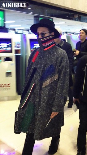 Big Bang - Gimpo Airport - 15jan2015 - G-Dragon - a081813 - 01